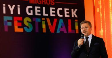 Migros İyi Gelecek Festivali 5-7 Nisan'da İstanbul Kongre Merkezi'nde ziyaret edilebilecek